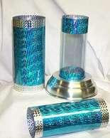 Crystal Fish Cylinder