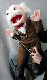 Grandpa Golfer Puppet