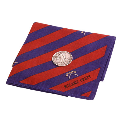 Coin Vanishing Handkerchief by Mikame