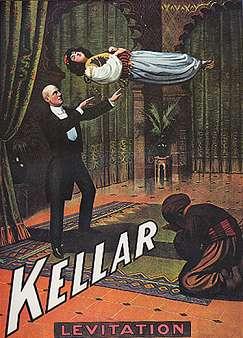Kellar Levitation On Canvas
