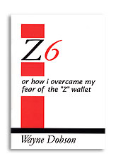 Z-6 Book Only (No Wallet) by Wayne Dobson