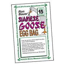 Siamese Goose Egg - Ron Bauer