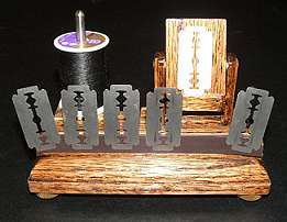 Antique Razor Blade Illusion - Powell