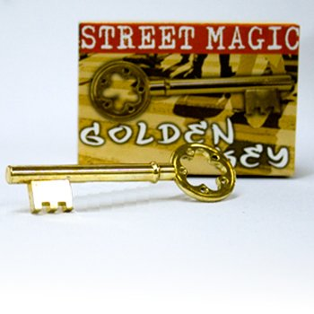 Golden Key - Brass