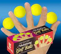 Multiplying Golf Balls