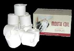 Classic Mouth Coils - White
