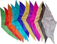 12 inch Diamond Cut Silks - 12-pack (Assorted Colors)