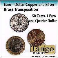 Silver/Copper/Brass-Euro-Dollar