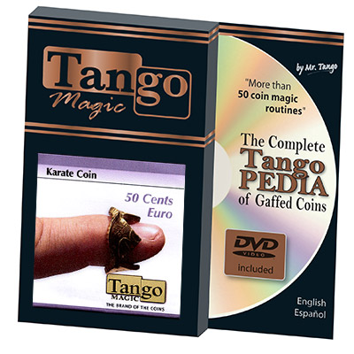 Karate Coin 50 Cents Euro by Tango Magic*