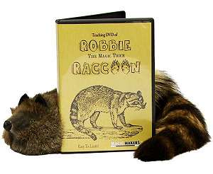 Robbie Raccoon JR w DVD