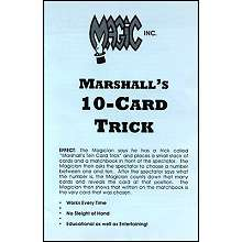Marshalls Ten Card Trick