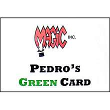 Pedros Green Card by Magic Inc