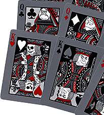 Cards Bicycle Tragic Royalty