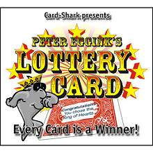 Lottery Card - Peter Eggink