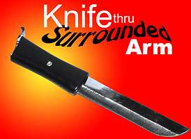 Knife-Thru-Arm-Surrounded