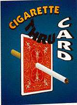 Cigarette Thru Card