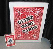 Jumbo Card Deck - Stage Size
