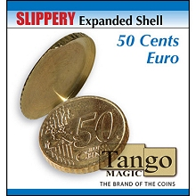 Slippery-Expanded-Shell-50-Cent-Euro-Coin-by-Tango