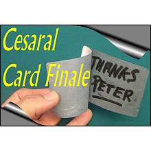 Cesaral Card Finale