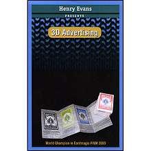 3D Advertising - Henry Evans