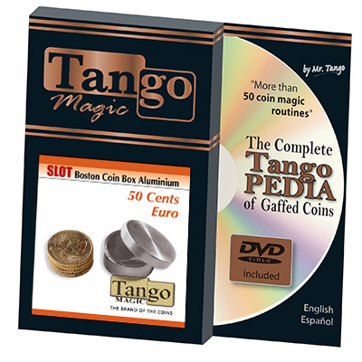 Slot Boston Box 50 cent Euro Aluminum by Tango