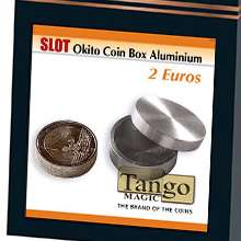 Slot-Okito-Coin-Box--2-Euro-Aluminum-by-Tango