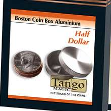 Boston Coin Box Half Dollar Aluminum by Tango