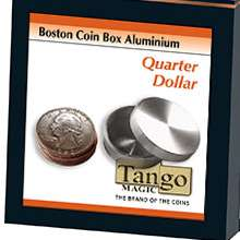 Boston Box Quarter Dollar Aluminum by Tango