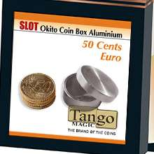 Slot Okito Box 50 cent Euro Aluminum by Tango