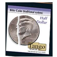Bite Coin - US Half Dollar (Traditional With Extra Piece) by Tango