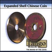 Expanded Shell Chinese Coin by Tango
