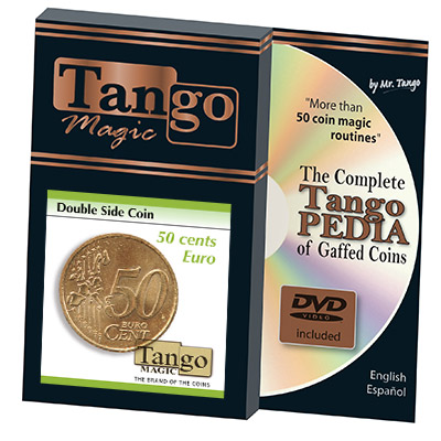 Double Sided Coin 50 cent Euro by Tango