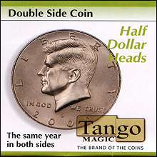 Double Side Half Dollar (heads)