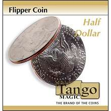 Flipper Coin Half Dollar by Tango