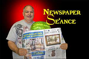 Newspaper-Seance