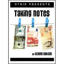 Taking Notes - Wayne Dobson