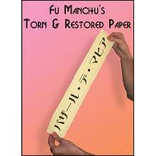 Torn and Restored Paper by Fu Manchu