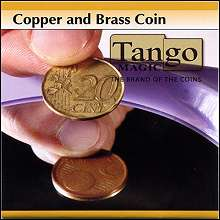 Copper and Brass 5c and 20c Euro - Tango