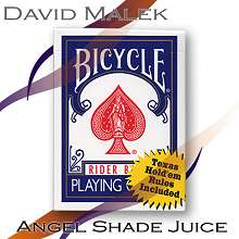 Marked Deck Bicycle by David Malek