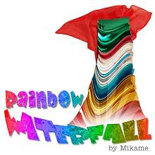Rainbow Waterfall by Mikame