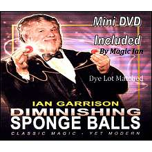 Diminishing Sponge Ball  by Ian Garrison