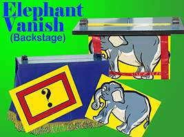 Backstage Elephant Vanish