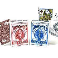 125 year Anniversary Bicycle decks