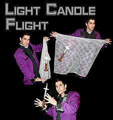 Lit Candles Flight by Tora Magic