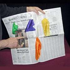 Silks From Newspaper