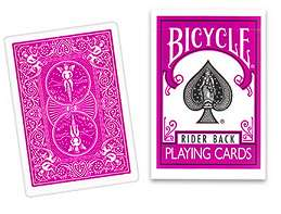 Cards Regular Bicycle - Fucshia