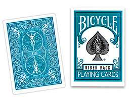 Cards Regular Bicycle - Turquoise