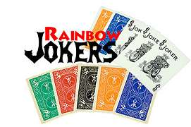 Rainbow Jokers by Astor