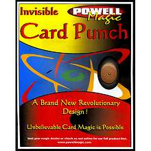 Invisible Card Punch
