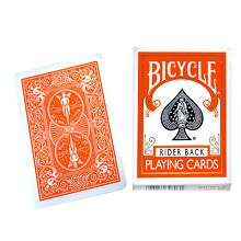 Cards-Regular-Bicycle-Orange